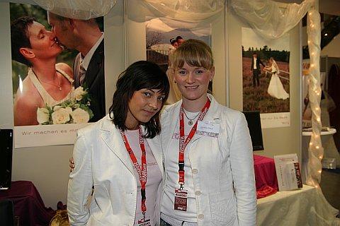 Schneeweißchen & Rosenrot auf der Hochzeitsmesse